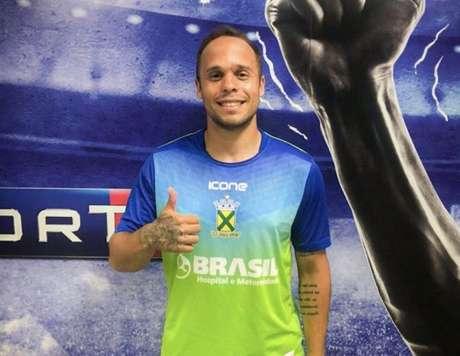 Douglas Baggio espera um bom jogo diante da Ferroviária (Foto:Divulgação / Santo André)