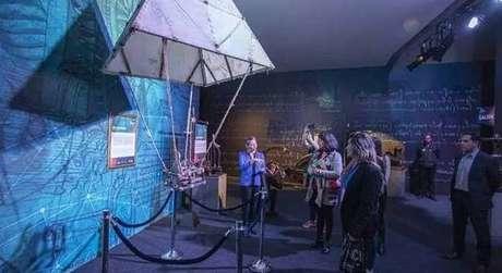 Foto de uma edição anterior da mostra 'Da Vinci Experience'