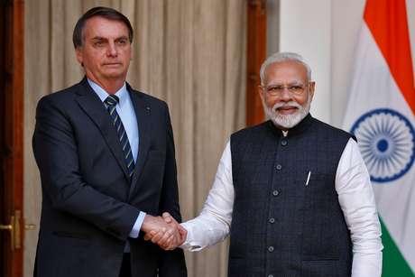 Presidente Jair Bolsonaro, que está na Índia em viagem oficial, criticou o governador do Rio de Janeiro, Wilson Witzel