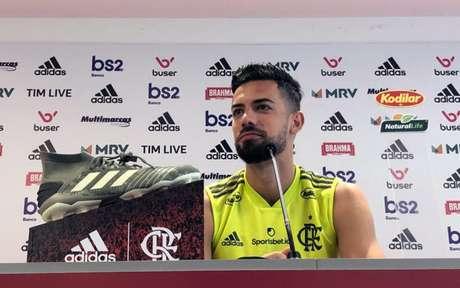 Pablo Marí está próximo de ser anunciado como reforço do Arsenal (Foto: Divulgação/Flamengo)