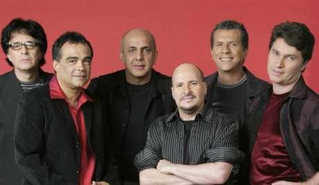 O grupo Roupa Nova em foto de setembro de 2004.