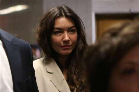 Mimi Haleyi chega para depor contra Harvey Weinstein em julgamento 27/01/2020 REUTERS/Gabriela Bhaskar
