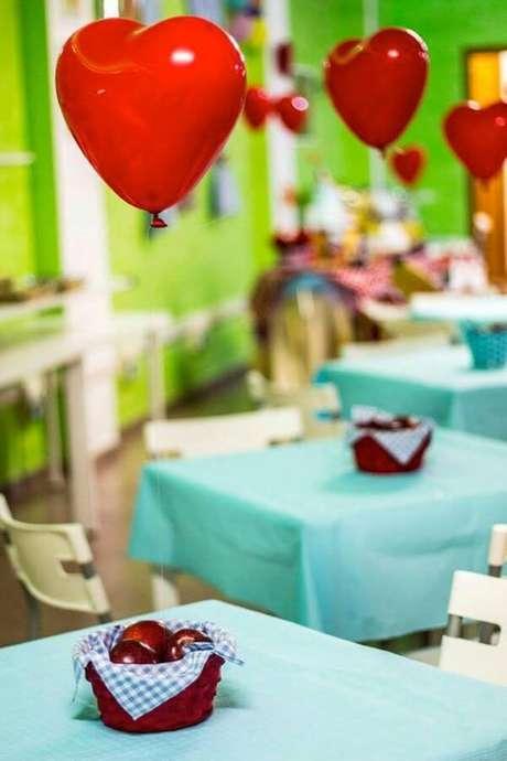 26. Lembrancinha de mesa com frutas – Via: Karas Party Ideas