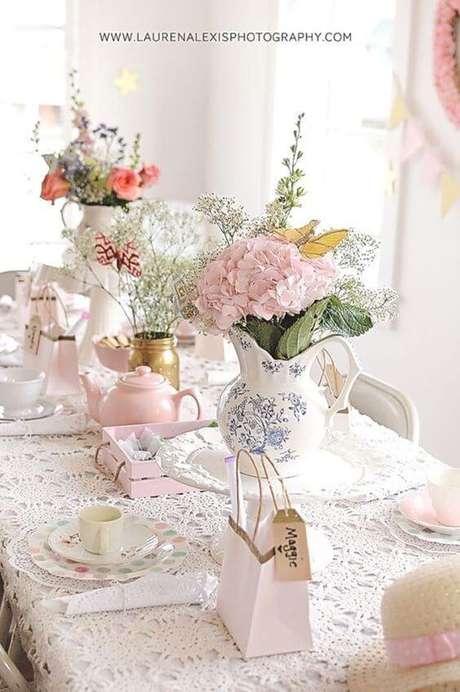 36. Lembrancinha de mesa na decoração festa – Via: Lauren Alexi Photography