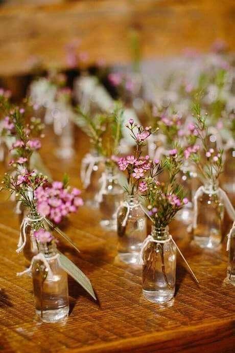 39. Lembrancinha de mesa com flores – Foto: Terra