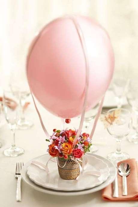 5. Lembrancinha de mesa para aniversário – Via: Revista Artesanato