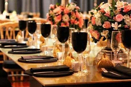 46. Lembrancinha de mesa para casamento – Foto: Rose o Gata