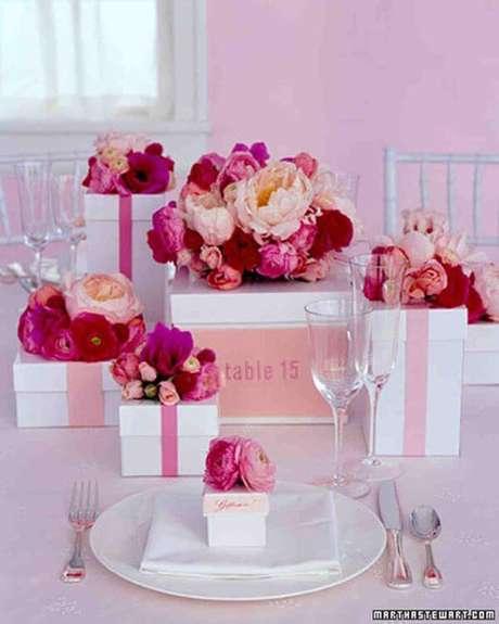 50. Lembrancinha de mesa para festa de aniversário – Foto:Martha Stewart