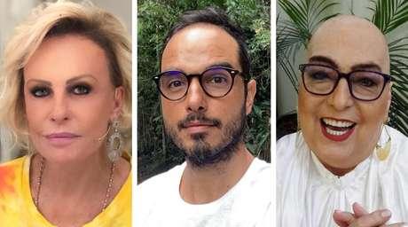 Ana Maria Braga, Leo Rosa e Mamma Bruschetta enfrentam o câncer com bravura