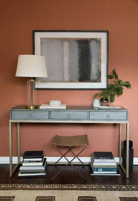 4. Saiba como inserir a cor terracota para decorar os seus ambientes – Foto: Home Club