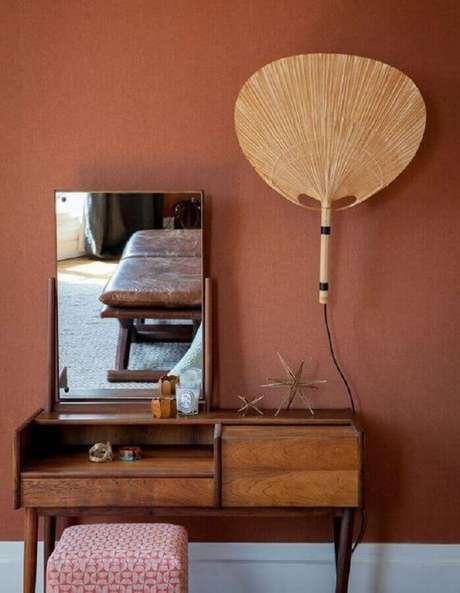 20. Cor de parede terracota – Foto: Archzine