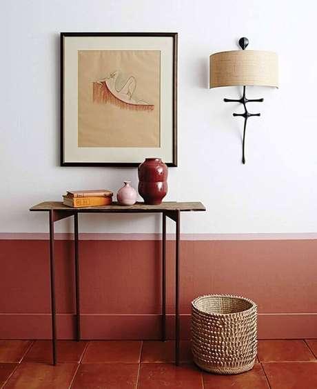 1. Invista na cor terracota para um toque acolhedor na sua decoração – Foto: Maison & Travaux