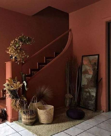 36. Casa cor terracota – Foto: Pinterest