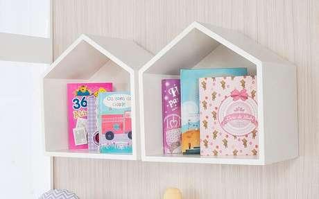 8- Os nichos de parede para quarto podem ter vários formatos. Fonte: Blog Grão de Gente