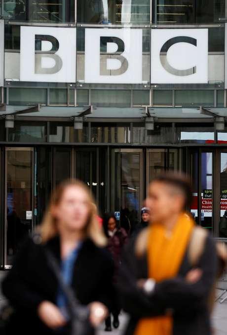 Visão externa do prédio da  BBC, em Londres. 29/1/2020. REUTERS/Henry Nicholls