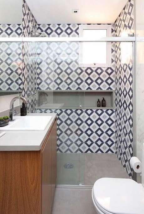 22. Modelos de pia para banheiro pequeno – Foto: Webcomunica