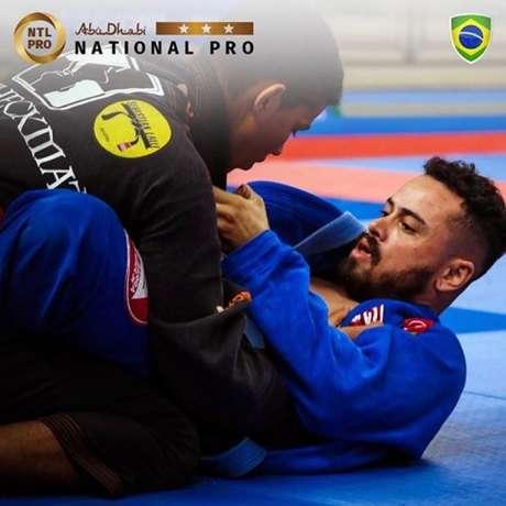 Abu Dhabi National Pro Brasil vai acontecer no dia 9 de fevereiro, em Curitiba (Foto divulgação)