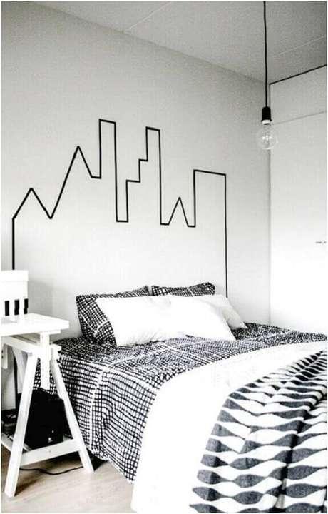 5. Modelos de quarto minimalistas são tendência de decoração – Foto: Homens de Sucesso