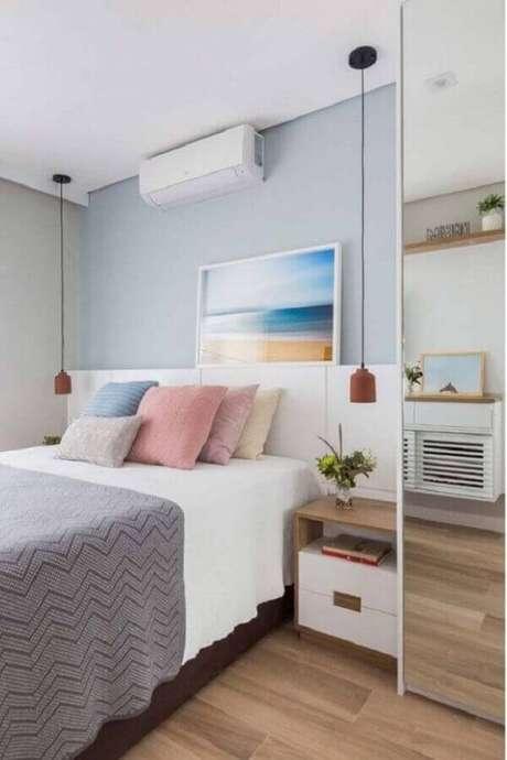 3. O piso vinílico é ótimo para mudar modelos de quarto sem precisar fazer reforma – Foto: Ideias Decor