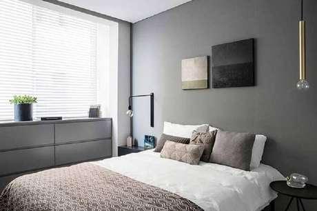 42. Decoração para quarto moderno com luminárias minimalistas – Foto: Dezeen