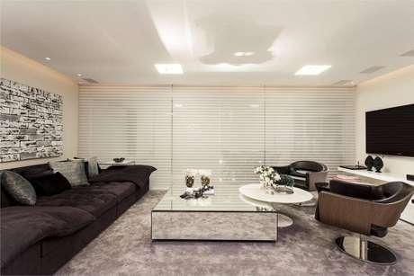 10. Persianas para sala de estar – Projeto: Flavio Moura