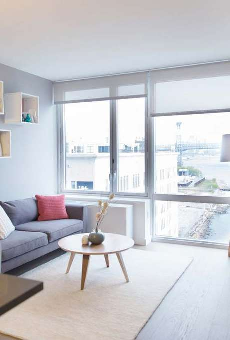 36. Persianas para sala de estar – Foto: Decor Fácil