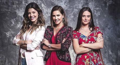 """Vitória Strada, Deborah Secco e Juliana Paiva em """"Salve-se Quem Puder""""(Reprodução/Instagram/@redeglobo)"""