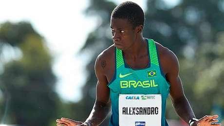 Alexsandro Melo, ganhador de duas medalhas de ouro na competição (Foto: Divulgação/CBAt)