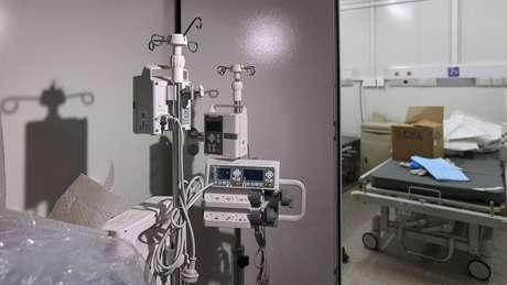 Imagem de dentro do hospital