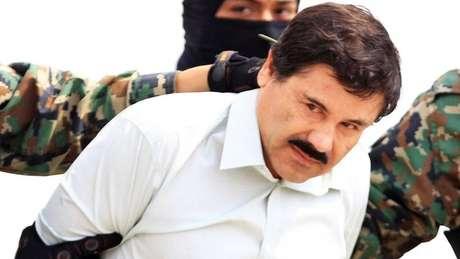 """""""El Chapo"""" Guzmán foi condenado à prisão perpétua nos Estados Unidos. Ele saiu na lista da Forbes em 2013."""