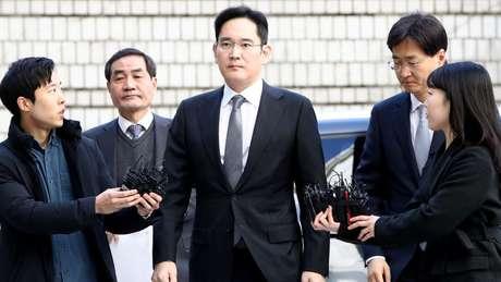 Jay Y. Lee teve um patrimônio estimado em US$7 bilhões, segundo a Forbes.