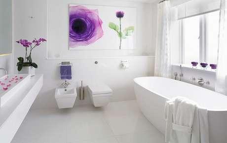 2. Cerâmica para banheiro clean
