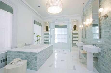 6. Cerâmica para banheiro com piso antiderrapante.