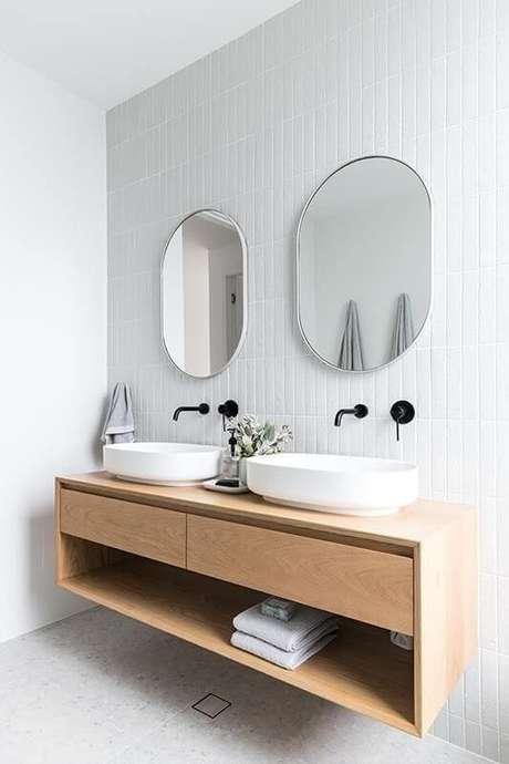 39. Cerâmica para banheiro neutro – Foto? Do Venda
