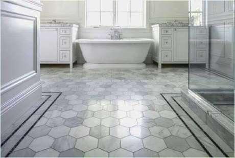 11. Ladrilho para piso de banheiro.