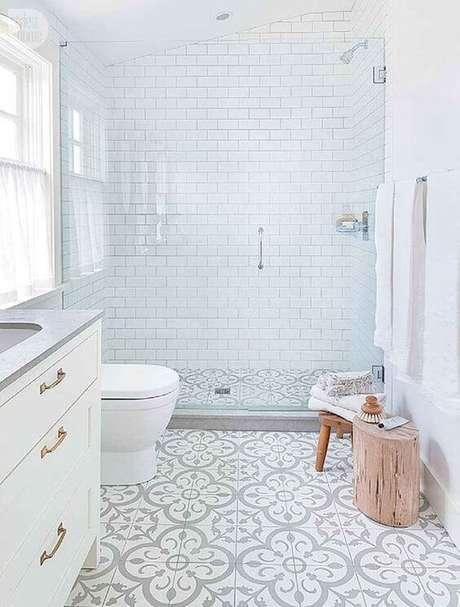 48. Cerâmica para banheiro neutro – Via: Struchome