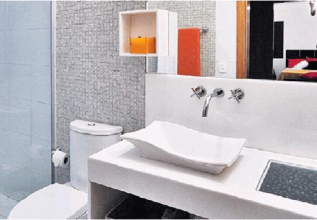 14. Cuba para banheiro com design diferenciado. Fonte: Pinterest