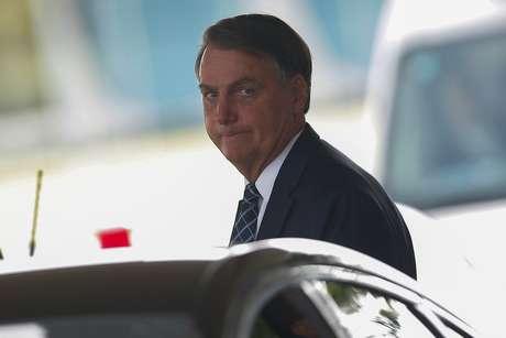 Bolsonaro deixa o Palácio da Alvorada 4/2/2020 REUTERS/Adriano Machado