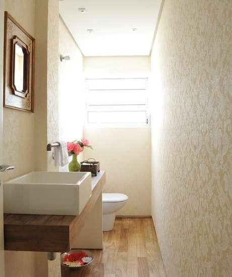 69. Cuba para banheiro branca de sobrepor. Fonte: Casa e Jardim