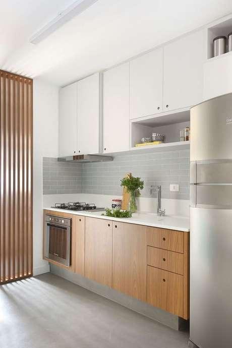 35. Armário de cozinha completo – Via: Pinterest