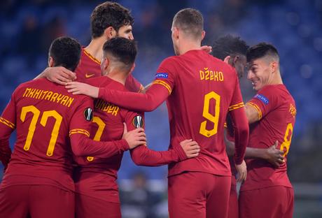 Jogadores na última partida da equipe (Foto: Divulgação/Roma)