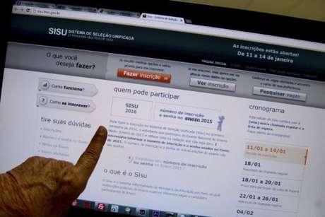 O Sisu é utilizado para selecionar candidatos para 238.397 vagas de graduação