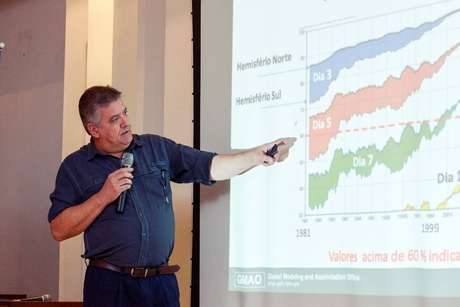 O pesquisador Saulo Freitas recebeu um prêmio da Nasa em reconhecimento ao seu trabalho para desenvolver um novo modelo de previsão do tempo