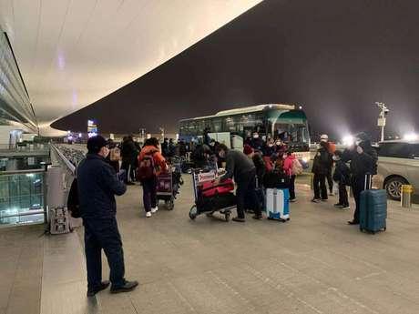 Brasileiros são repatriados de Wuhan, epicentro da epidemia de coronavírus