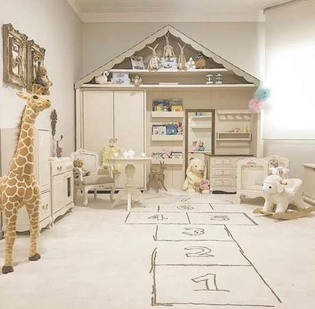 7. Brinquedoteca clean e criativa – Via: Insta Baby