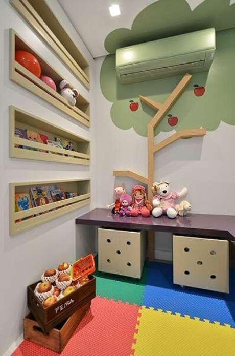 20. Brinquedoteca colorida para decoração criativa – Via: Cr Arquitetura e Paisagismo