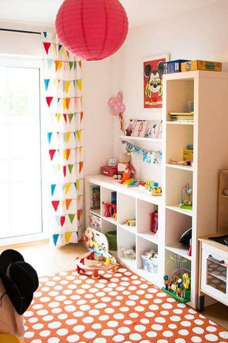 21. Brinquedoteca colorida – Via: Home My Design
