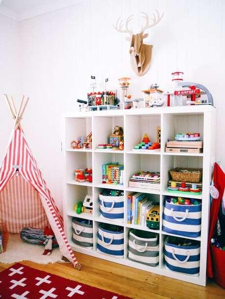 47. Estante para organizar brinquedos – Foto: Apartment Therapy