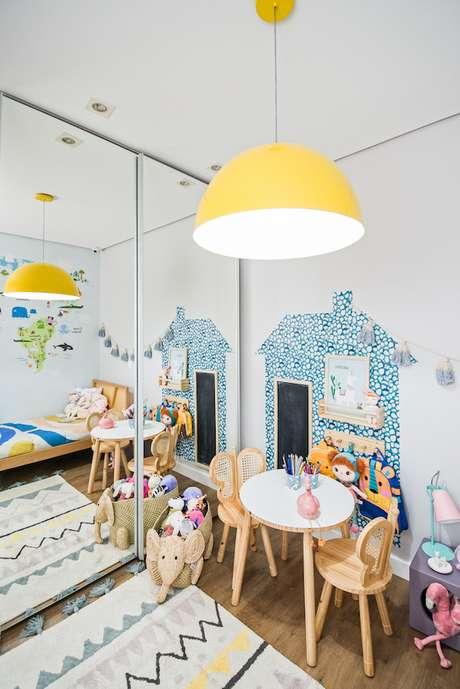 51. Quarto infantil com brinquedoteca – Via: Decor Petit