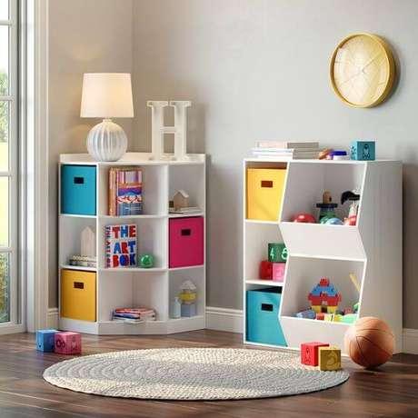 55. Decoração infantil colorida – Via: Home Depot